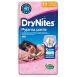 Huggies Drynites Girl 3-5 Jaar (10st)