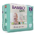 Bambo Nature Babyluier Mini 2 3-6 Kg (30st)