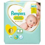 Pampers New Baby Newborn Maat 1 (22st)