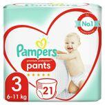 4 voor 26.00: Pampers Premium Protection Maat 3 Luierbroekjes