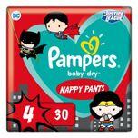 1+1 gratis: Pampers Baby-Dry Superhelden Maat 4 Luierbroekjes