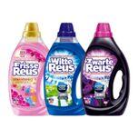 Witte + Frisse + Zwarte Reus Vloeibaar Wasmiddel Voordeel Pakket