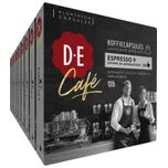 D.E Café Espresso 9 Koffiecups - 10 x 20 cups - 200 koffiecups