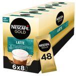 Latte Macchiato oploskoffie - 6 doosjes à 8 zakjes