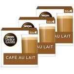 Nescafé Dolce Gusto capsules Café Au Lait - voordeelverpakking - 90 koffiecups - geschikt voor 90 koppen koffie