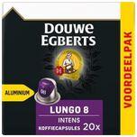 Koffiecups Lungo 8 intens cups - 20 aluminium capsules - voordeelpak