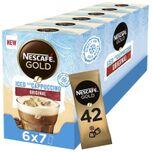 Gold Iced Cappuccino oploskoffie - 6 doosjes à 7 zakjes