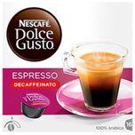 Koffiecapsules Nescafé Dolce Gusto 60658 Espresso Decaffeinato (16 uds)