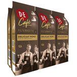D.E Café Delicaat Rond Filterkoffie - 6 x 250 gram