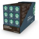 By Nespresso Espresso Dark Roast capsules - 120 koffiecups