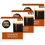Nescafé Dolce Gusto capsules Grande Intenso - 48 koffiecups - geschikt voor 48 koppen koffie