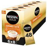 Caramel Latte oploskoffie - 6 doosjes à 8 zakjes