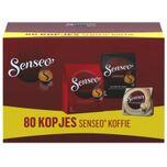 Koffiepads Variatiepakket - Classic, Espresso en Cappuccino - voor in je ® machine - proefpakket met meerdere smaken - 80 pads