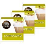 Nescafé Dolce Gusto capsules Cappuccino - voordeelverpakking - 90 koffiecups - geschikt voor 45 koppen koffie