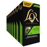 Espresso Lungo Elegante Koffiecups - 10 x 10 cups - 100 koffiecups