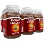 Aroma Rood Oploskoffie - 6 x pot van 200 gram
