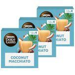 Nescafé Dolce Gusto Coconut Macchiato capsules - vegan koffie - 36 koffiecups