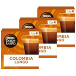 Nescafé Dolce Gusto Absolute Origins Colombia Sierra Nevada Lungo Koffiecups - 3 doosjes à 12 capsules geschikt voor 36 kopjes