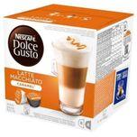 Koffiecapsules Nescafé Dolce Gusto 24191 Latte Macchiato (16 uds) Karamel