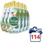 Klein & Krachtig Kokos Sensation Vloeibaar Wasmiddel - 6 x 19 wasbeurten - Voordeelverpakking