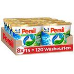 4in1 Discs Universal Wascapsules - Wasmiddel Capsules - Voordeelverpakking - 8 x 15 wasbeurten