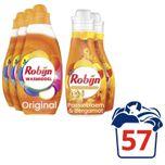 Color Wasmiddel en Wasverzachter - 57 wasbeurten - Voordeelverpakking