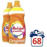 Klein & Krachtig Color Vloeibaar Wasmiddel - 2 x 34 wasbeurten - Voordeelverpakking