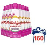 Klein & Krachtig Color Pink Sensation Vloeibaar Wasmiddel - 8 x 20 wasbeurten - Voordeelverpakking