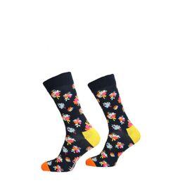 Hibiscus Sock - Zwart