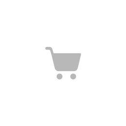 Eames DSX stoel zwart gepoedercoat onderstel Rusty Orange