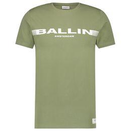 Stripe Logo T-shirt Heren