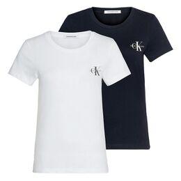 Monogram Logo Shirt Dames (2-pack)