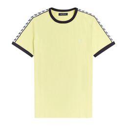 Taped Ringer Shirt Heren