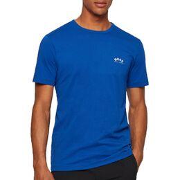 Curved Logo Shirt Heren