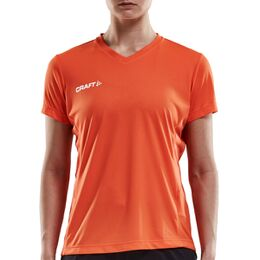 Squad Jersey Solid SS Shirt Dames
