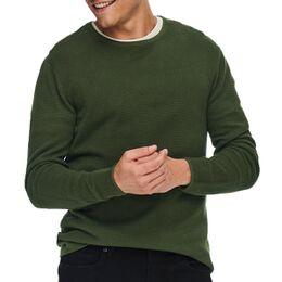 Panter Life 12 Struc Crew Knit Sweater Heren