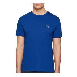 Curved Logo T-shirt Heren