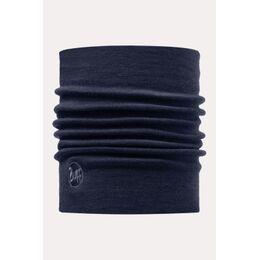 Wool Thermal Denim Neckwarmer Koningsblauw/Donkerblauw