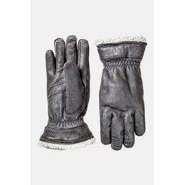 Deerskin Handschoen Dames Zwart