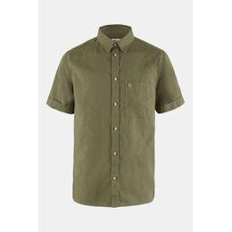 Övik Travel Shirt SS M Middengroen
