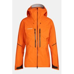 Nordwand Advanced HS Hooded Jas Oranje