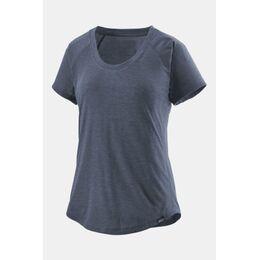 Cap Cool Trail Shirt Dames Marineblauw