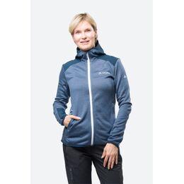 Monviso Woodfiber Fleecevest Dames Marineblauw