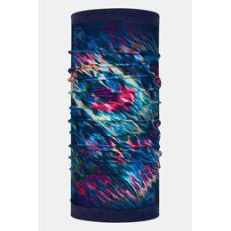 Reversible Polar Neckwarmer Lux Multi Night Blue Fleece Nekwarmer Donkerblauw