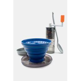 Pourover Java Set Koffiemolen en Koffiefilter Donkergrijs