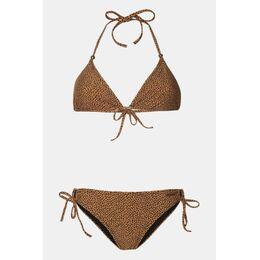 Eva Triangle Bikini Dames Zwart