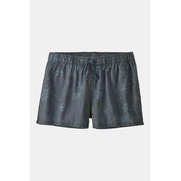"Island Hemp Baggies Shorts 3"" Dames Middengrijs"
