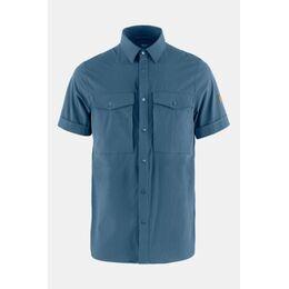 Abisko Trekking Shirt Ss Middenblauw