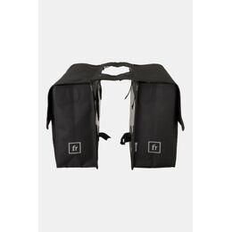 Double Bicycle Bag Fietstas Zwart
