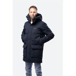 Drew Parka jas Donkerblauw